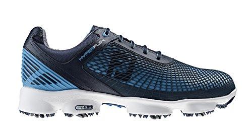FootJoy Hyperflex-Chaussures de golf pour homme, Azul marino / Azul eléctrico