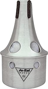 Jo-Ral Small Trombone Bucket Mute - Aluminium