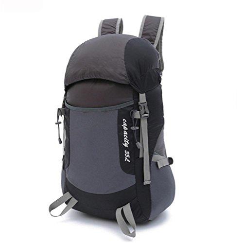 Sacchetto esterno di viaggio, pieghevole leggero, spalla di corsa del sacchetto, arrampicata all'aperto, uomini luce portatile, in nylon di alta qualità importato, 40L , a b