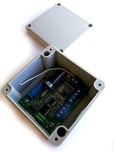 Funk Sender 868MHz für 3 Temperatur Feuchtigkeit Sensoren Temperatursensor DS18B20 DHT-22 SHT-22 im IP65 Gehäuse auch passend an Homematic CCU2 / FHEM über Jeelink