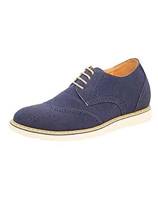 Dvano Men's Dark Blue Shoes 9 UK