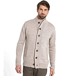 WoolOvers Cardigan Everyday boutonné - Homme - Pure Laine