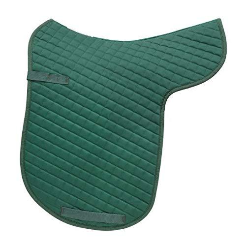 Kieffer Satteldecke Molton grün Größe Dressur