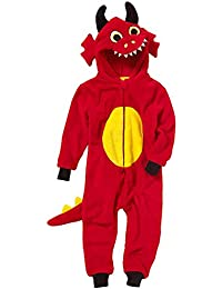 Combinaison Pyjama Dragon Animal Crazy Garçon Polaire Douillet