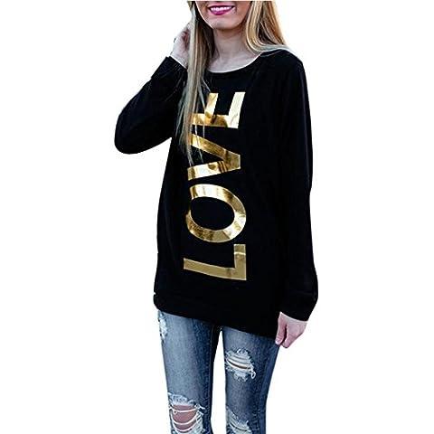 Coversolate Camisa de manga larga de manga larga de manga larga para mujer