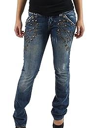 MET Pantalón Vaquero Para Mujer Karma 09–205en azul