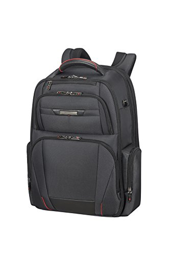 "SAMSONITE Pro-DLX 5 - Backpack Expandable for 17.3"" Laptop 29/34L, 1.7 KG Mochila Tipo Casual, 48 cm, 29 Liters, Negro (Black)"