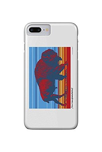 Native Buffalo - John Van Hamersveld Poster Artwork (iPhone 7 Plus Cell Phone Case, Slim Barely There) -