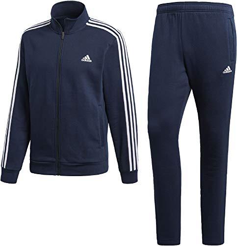 adidas Performance adidas DN8522 Herren Anzug für Fitness und Freizeit Stehkragen Reißverschluss, Groesse 58, marine