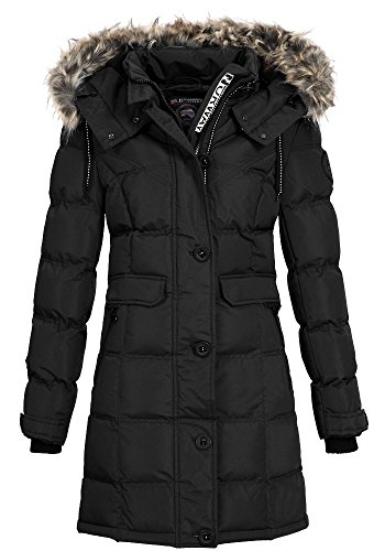 Geographical Norway Damen Jacke Steppmantel Cala black S