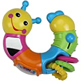 Luvlap - 18552 Caterpillar Twist and Turn for Baby, Multicolor