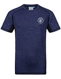 Manchester City FC Official Football Gift Mens Poly Training Kit T-Shirt 462851ea9