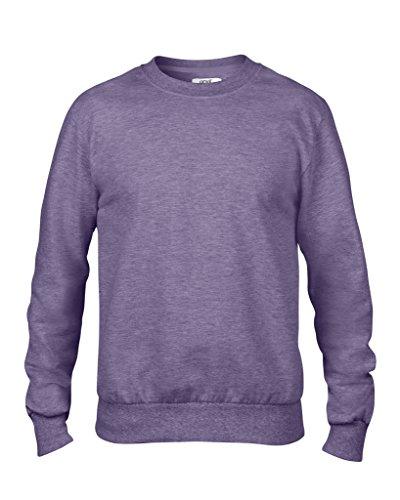 MAKZ - Sweat-shirt - Femme Violet - Violet chiné