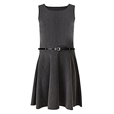 Ex UK Store Girls School Pinafore Dress Soft Touch with Belt 3-11Y : everything five pounds (or less!)