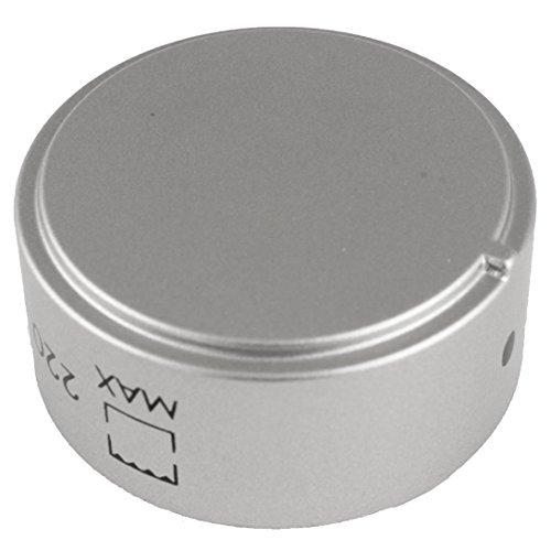 Genuine Hotpoint forno di cucina piani cottura manopola di controllo (argento)