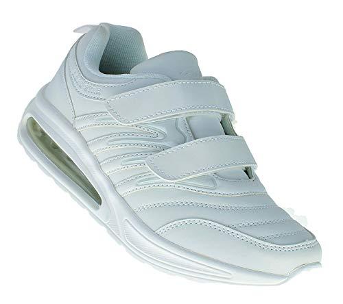 Bootsland 815 Damen Herren Klett Sportschuhe Sneaker Turnschuhe Freizeit, Schuhgröße:41 - Klett Damen Sneaker