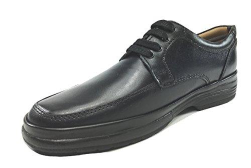 Mark Hero , Chaussures de ville à lacets pour homme Noir