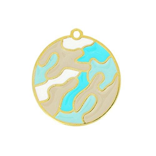 colgante-camuflaje-esmalte-epoxi-30-mm-azul-claro-turquesa-dorado-x1