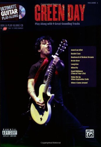 Green Day - Ultimate Guitar Play-Along Guitar Tab Songbook (Ultimate Play-Along) by Green Day (2007-04-01) (Tab Guitar Green Day)