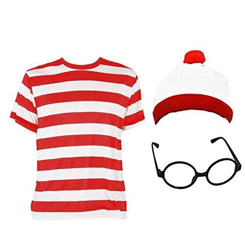 Cojunto tematico para niños de camisa rayada
