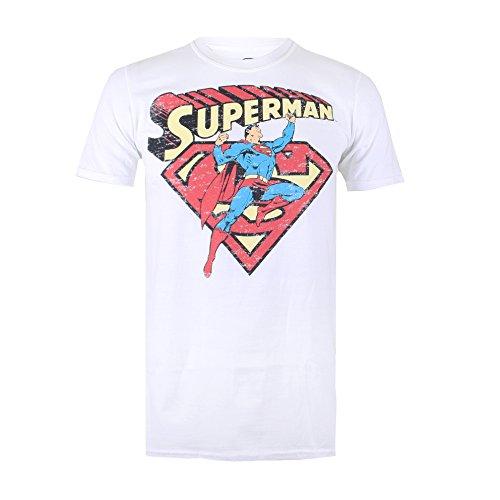 dc-comics-vintage-superman-mens-t-shirt-homme-blanc-l