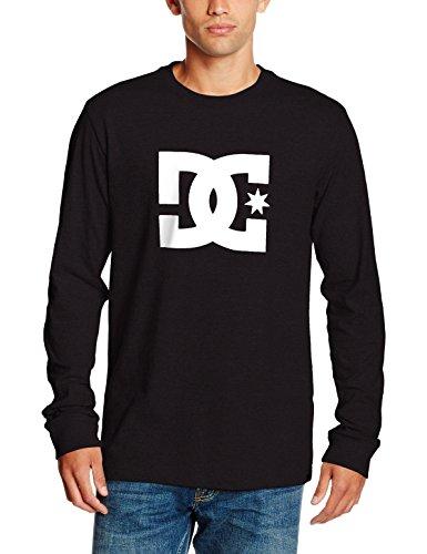 DC Shoes EDYZT03455 Star-Maglietta da uomo, colore: nero, taglia: L (taglia del produttore: L)