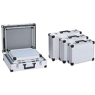 allit Utensilien-Kofferset ´AluPlus Basic´, 3-teilig, silber, Sie erhalten 1 Packung, Packungsinhalt: 3 teilig
