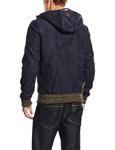 Naketano Herren Jacke Muzzy Night Fever Blau (Dark Blue 67)