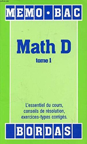 Mathématiques, série D