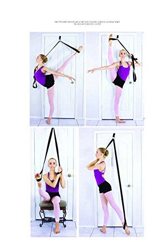 Ballet Yoga Stretch Belt Elastic Stretching Strap Exercise Fitness