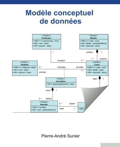 Modèle conceptuel de données par Pierre-André Sunier