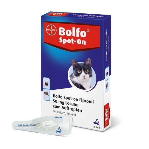 Bolfo Spot-on Fipronil 50 mg Lösung für katzen 3 stk