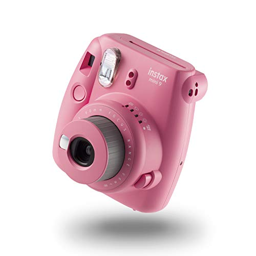 Fujifilm Instax Mini 9 - Cámara instantánea, Color Rosa Suave
