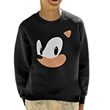 Cloud City 7 Sonic The Hedgehog Portrait Kid's Sweatshirt