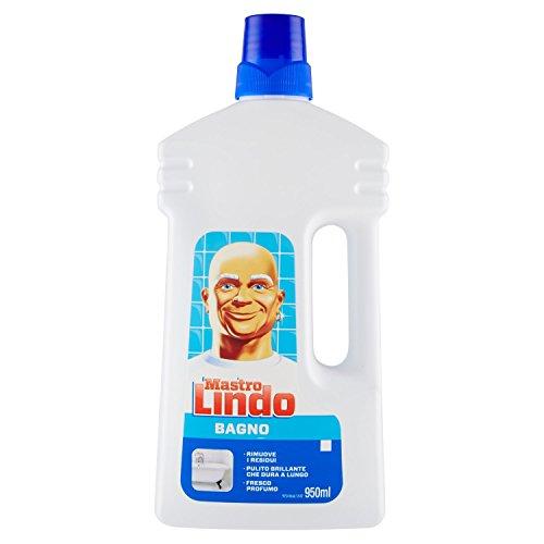 Mastro Lindo - Detergente per Bagno - 6 pezzi da 950 ml [5700 ml]