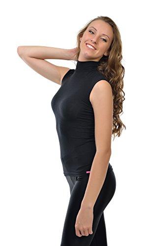 Unbekannt - T-shirt - Femme Noir - Noir