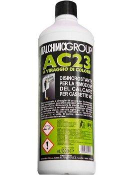 Desincrustante AC23para cassette inodoro integrado Geberit Ed externos para la eliminación del...