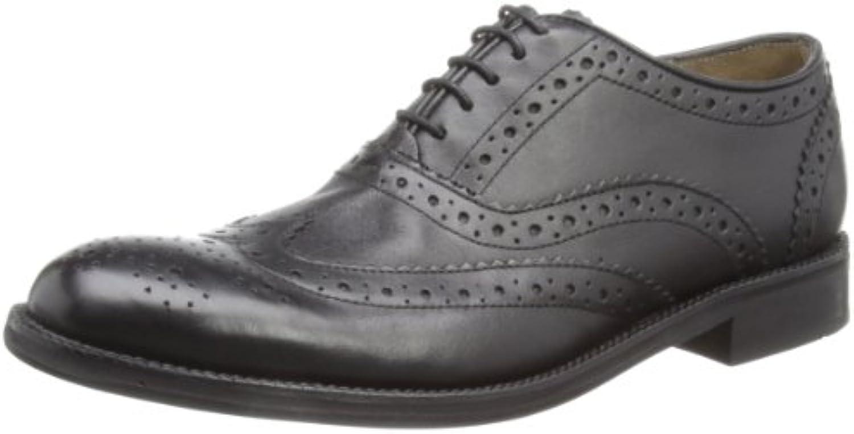 Brand Oxford - Zapatos de cordones de cuero para hombre -