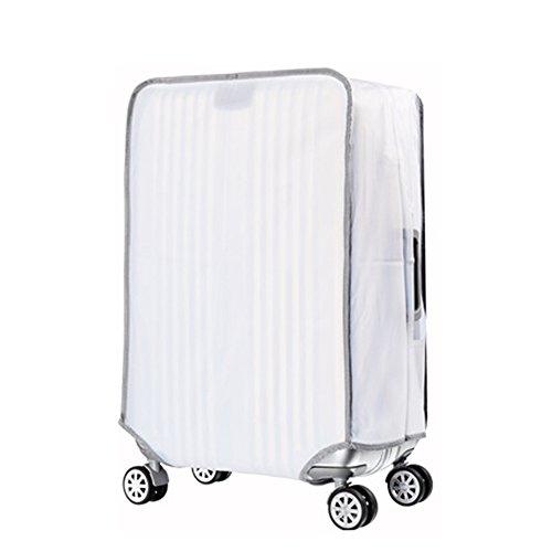 Artone Chiaro Pvc Impermeabile Viaggio Protezione Bagagli Bagaglio Copertura Valigia Adatti I Bagagli Da 20 Pollici