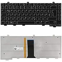 Laptoptaste/_de Original Deutsch SCHWARZ QWERTZ Tastatur mit HINTERGRUNDBELEUCHTUNG Dell Alienware 13 R1 13 R2 15 R1 15 R2 Service-Werkzeugsatz