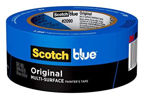 ScotchBlue 2090-48A Abklebeband für alle Oberflächen, 48mmx 55m, 1 Rolle