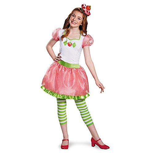 Disguise Strawberry Shortcake Tween Costume, One Color, Large (10-12)