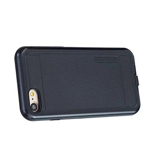 JIALUN-étui pour téléphone Housse de protection en couleur solide Shock Back Case pour Apple IPhone 7 4.7 pouces ( Color : Black , Size : IPhone 7 4.7 Inch ) Black