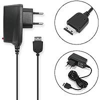 Chargeur pour Samsung SGH-D800 GT-S5230 -S3650 GT-B2100 -B3410 SGH-F480 GT-E1200 -E1050 -E1190 -E1150 -E2550 SGH-U900 -C270 -M110 -G800 -J700 -U800 -i900 5V 0.5A 1,2m TADS10 câble de charge
