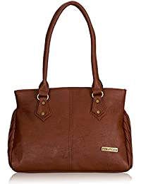 Fantosy Women's Handbag (Brown) (FNB-446)