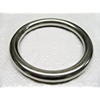 5MM x 35MM Stainless Steel Round Ring - Marine O Webbing Rigging Mooring