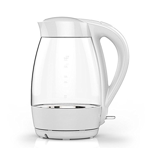 GPC Electric Kettle Glass White Base Separation 1800W 1.7L Automatic Power off Insulation Home Travel Electric Kettles
