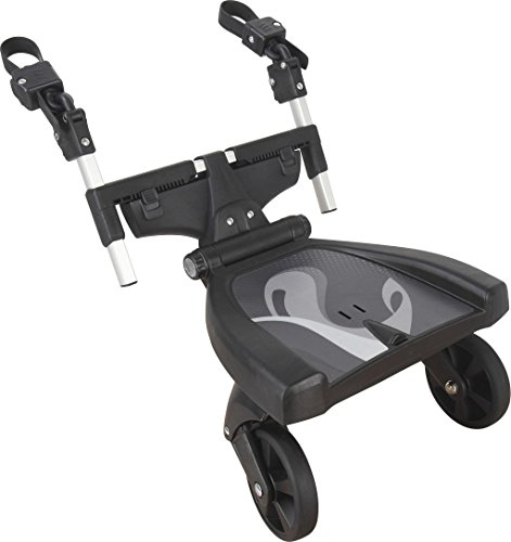 Fillikid Buggy-Board 180° mit 3fach verstellbaren Sitz | Filliboard Mitfahrbrett | Mitfahrbrett universal für Kinderwägen & Buggies & Sportwagen, Größe:Filliboard 180° ohne Zusatzsitz
