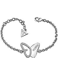 Braccialetti Guess per donna con farfalla, modelloUBB83011
