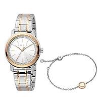 ساعة كلارا كوارتز عصرية للنساء من اسبريت - موديل ES1L188M0075